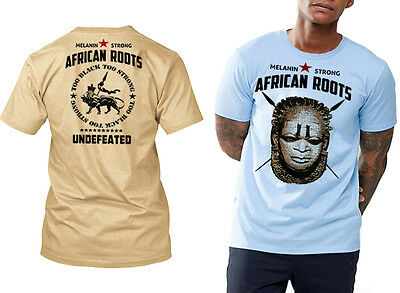Power To The People T-Shirt Huey P Newton Black Panther African Tan Tee