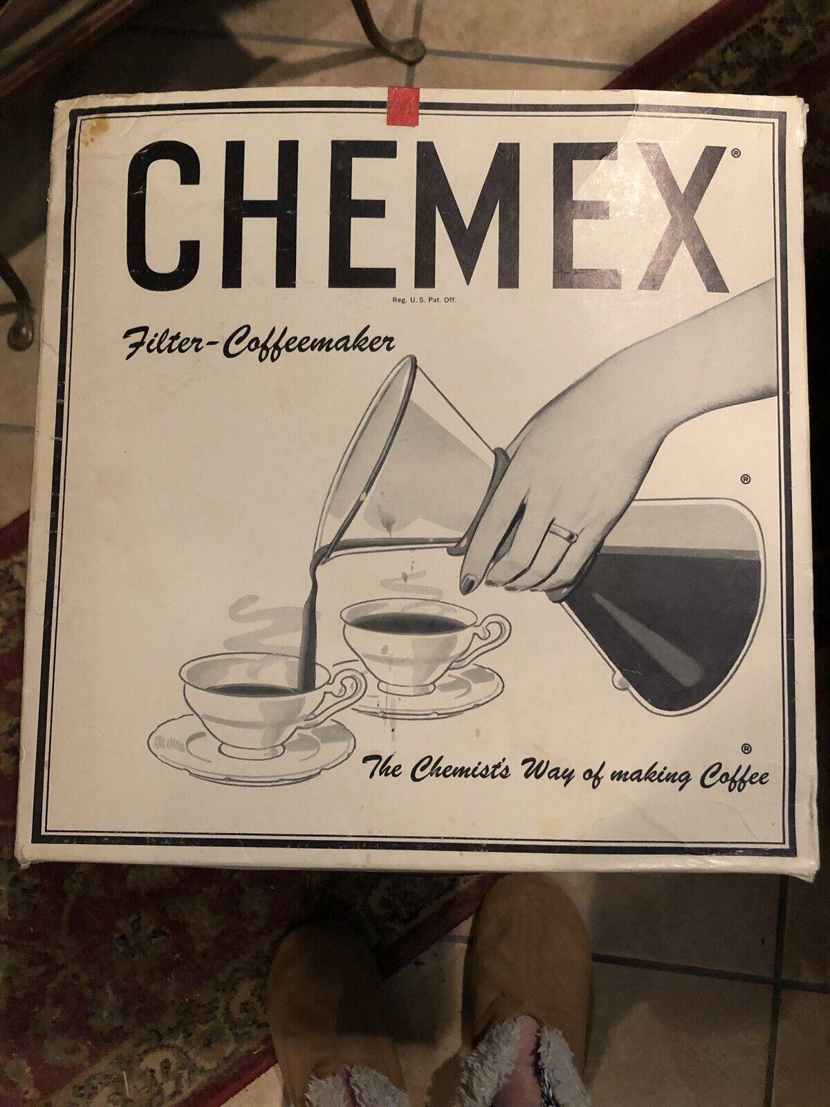 Vintage 1964 CHEMEX Filter-Coffeemaker Filters