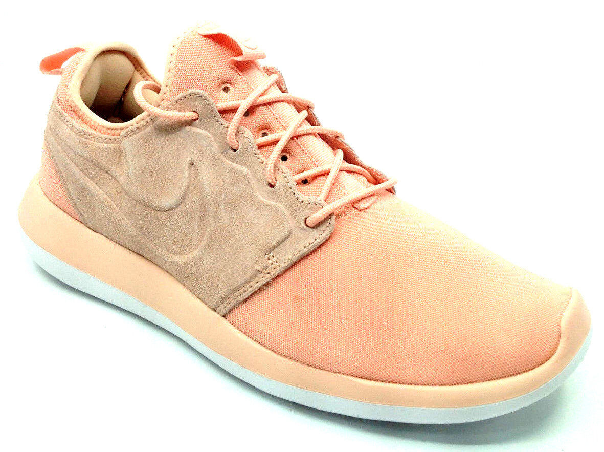 low priced 1da5a 4d827 Nike Roshe Two BR Mens Sneaker Arctic Orange/White 898037-800 Size 9