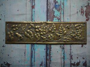 FP146-Reclaimed-Salvaged-Old-Original-Door-Finger-Plate-76-x-276mm