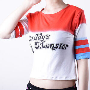 749802190 Suicide Squad Harley Quinn Daddy's Lil Monster Costumes Cosplay ...