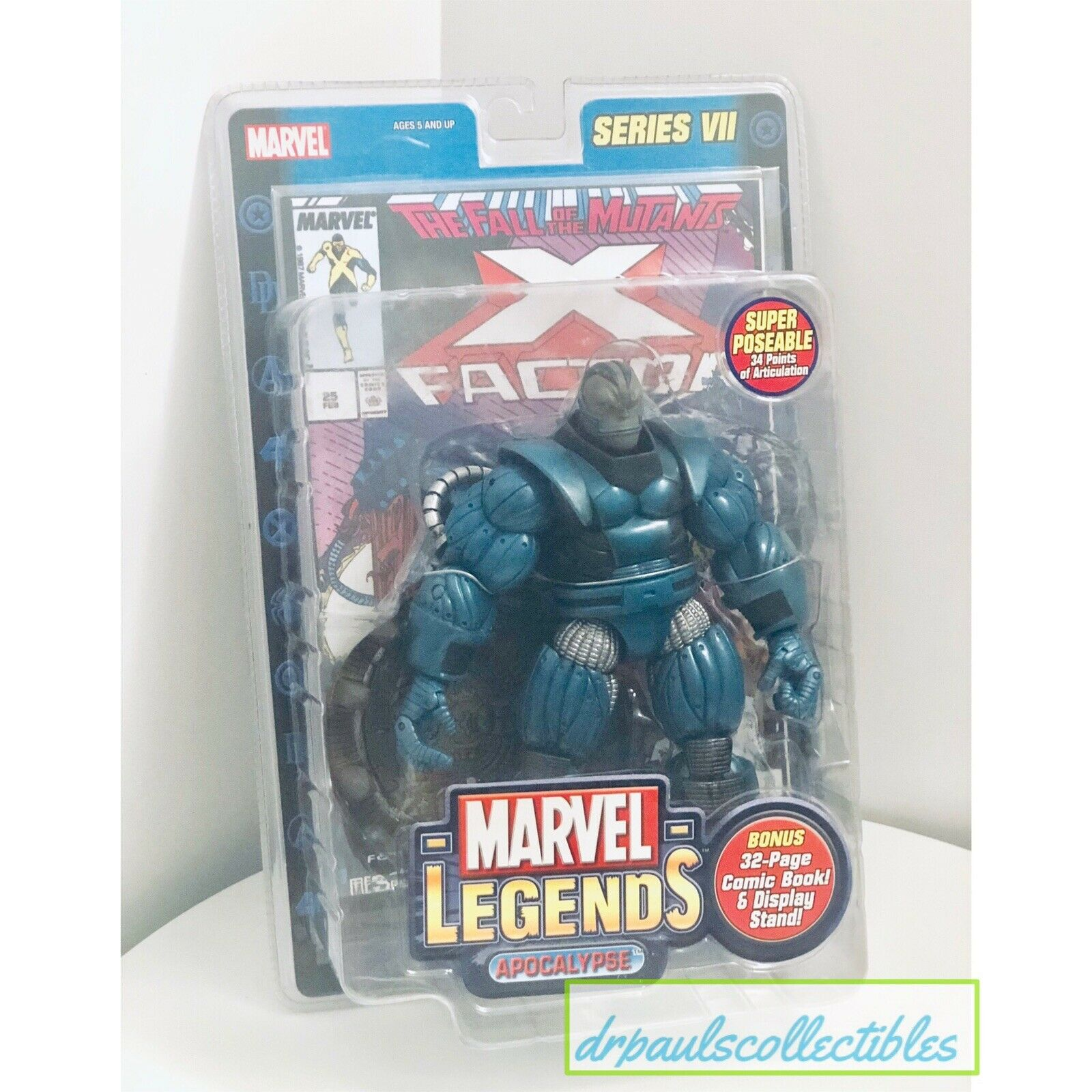 The Legend of the Miracle Jugueteitz 7 - X - Men Apocalipsis 7 - 1