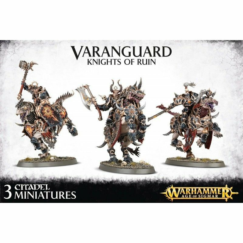 Varanguard Knights of  Ruin Everchosen Chaos Warhammer Age of Sigmar nuovo  ultimi stili
