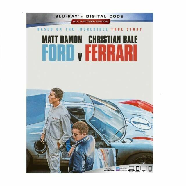 Ford V Ferrari 2019 Blu Ray Digital For Sale Online Ebay