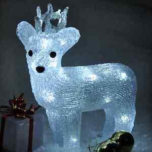 image is loading crystal effect christmas decoration led light reindeer penguin