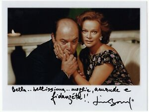 Autografo-di-Lino-Banfi-con-frase-su-foto-Italian-Actor-Signed-Photo-Cinema