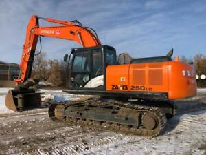 Used 2018 Hitachi ZX250 LC-5 Excavator Canada Preview