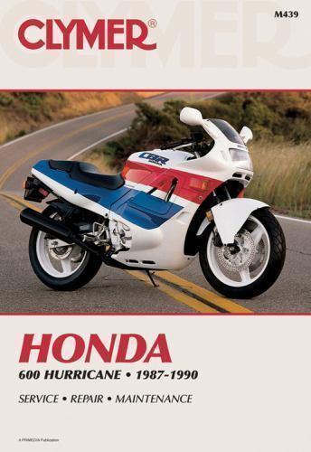 1987-1990 Clymer M439 Honda 600 Hurricane