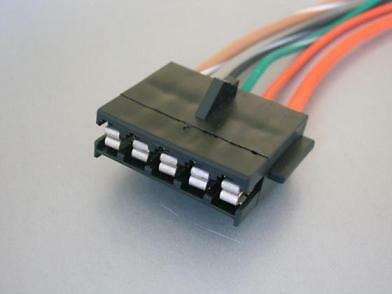 Camaro//Firebird 90-92 TPI TBI Fuel Pump Relay Connector Pigtail TPI-WIR-470
