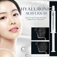 1x Hyaluronic Acid Liquid Face Skin Care Anti Aging Collagen Essence moisturize