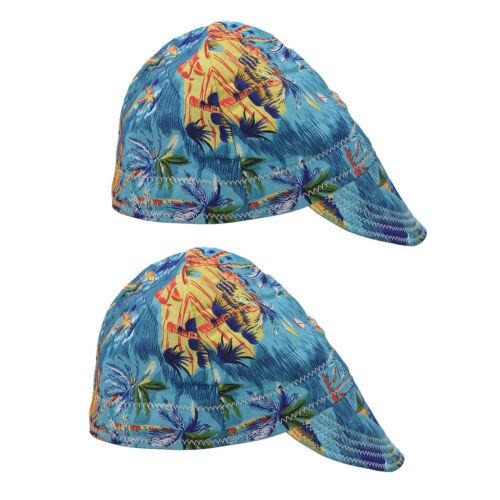 Set Schweißermütze 2 Stück für unterschiedliche Kopfbreiten