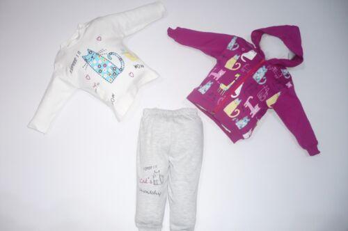 ♥ Neu ♥ Babykleidung StrampelhoseGr.74 ; 80 3-teilig| Oberteil
