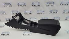VW PASSAT B6 SALOON CENTRE CONSOLE WITH ARMREST / ARM REST IN BLACK 3C0863319Q