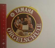 Aufkleber/Sticker: Yamaha Orgelschule (16121612)