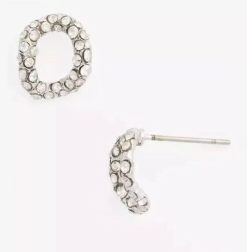 Alexis Bittar Elements Jardin de Papillon Small Chain Link Post Stud Earrings