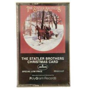 The Statler Brothers Christmas Card Cassette Tape Music Vintage