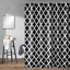 100-tissu-polyester-Design-Moderne-Lavable-Rideau-de-douche-avec-12-crochets miniature 27