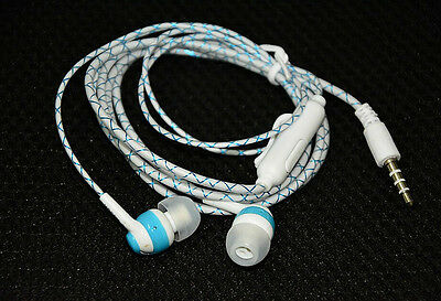 Glow In The Dark Headphones Luminous Neon Headset Flashlight Earphone With Mic