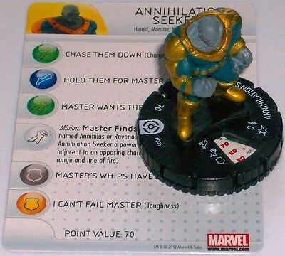 Annihilation Seeker #005 Galactic Guardians Marvel Heroclix Prezzo Basso
