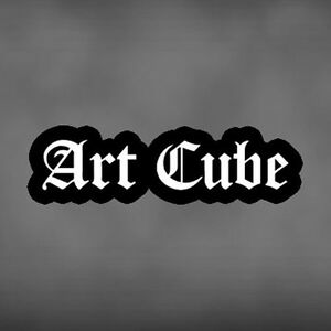 Black-Goth-Gothic-Rock-Lolita-Art-Cube-Emblem-Patch-Music-Jrock-Jpop-Visual-Kei