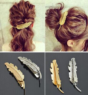 schöne Haarspange Haarklammer Haarklemme Haarclip goldfarben metall Ø 3cm Solida