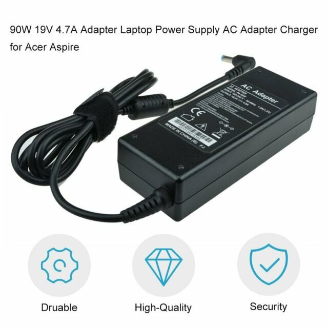 90W 19V 4.7A Adapter Laptop Power Supply AC Adapter Charger for Acer Aspire GN