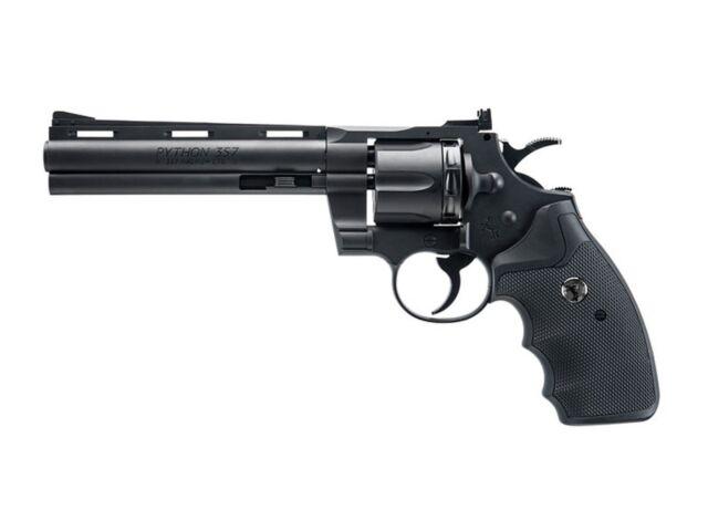 Colt Python .357 CO2 Pellet/BB Revolver Single-Action Double-Action - 0.177 cal