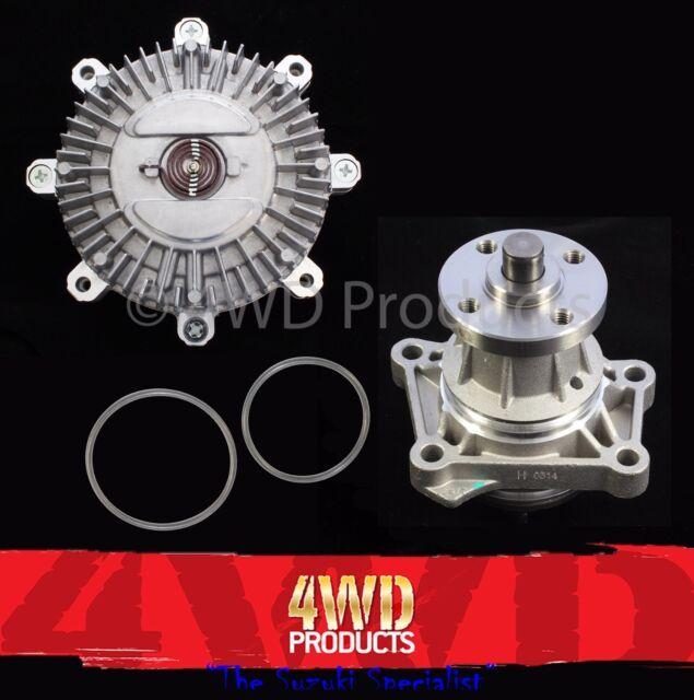 Viscous Fan Clutch & Water Pump - Suzuki Grand Vitara SQ625 2.5-V6 H25A (98-05)