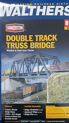 3012 Walthers Cornerstone Double Track Truss Bridge HO Scale
