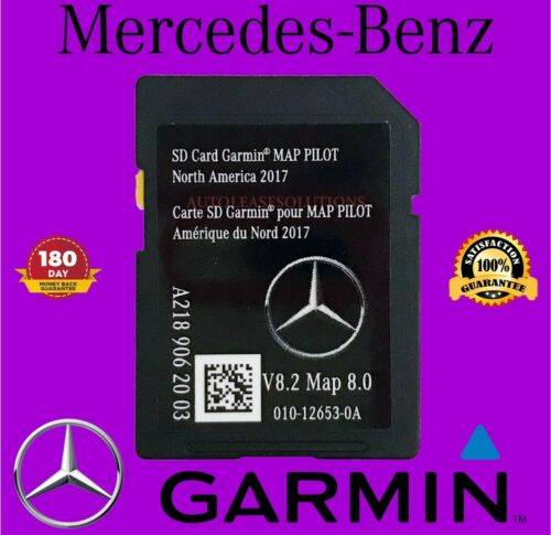 Mercedes-Benz A2189062003 Garmin Map Pilot Navigation SD Card 2017 North America