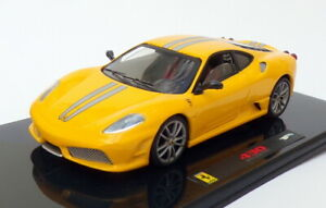 Hotwheels-1-43-escala-N5952-Ferrari-430-Scuderia-Amarillo