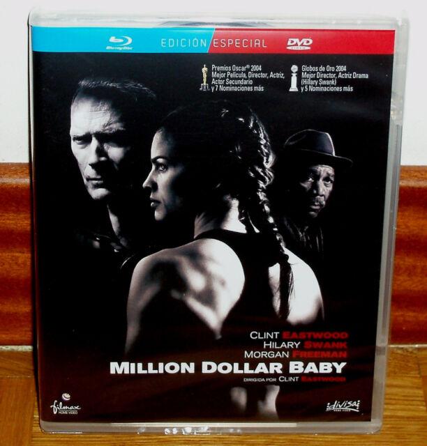 MILLION DOLLAR BABY EDICION ESPECIAL BLU-RAY+DVD NUEVO PRECINTADO (SIN ABRIR) R2