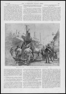 1897-Antique-Print-HAMPSHIRE-Southampton-Royal-Artillery-Field-Battery-148