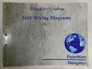 Ford 2001 Expedition / Navigator WIRING DIAGRAMS Shop ...