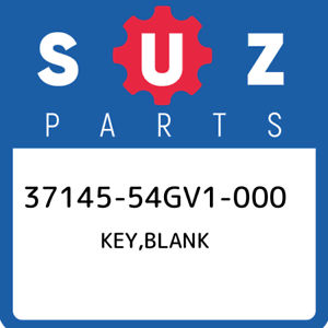 37145-54GV1-000-Suzuki-Key-blank-3714554GV1000-New-Genuine-OEM-Part