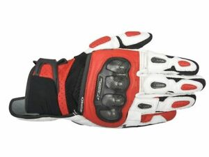 Alpinestars-SP-X-AIR-Carbon-Glove-Motorrad-Handschuh-Fb-sw-re-ws-Gr-L-UVP-89-95