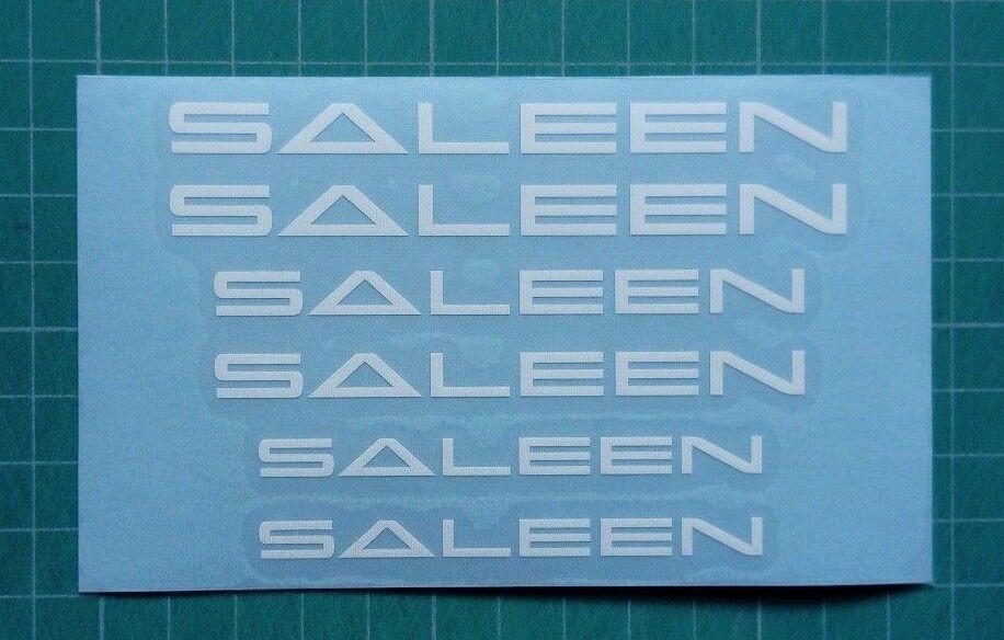 Set of 6X SALEEN brake caliper decal sticker fits S7 S620 S570 Mustang 302 S281