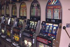 668065 Slot Machines A4 Photo Print