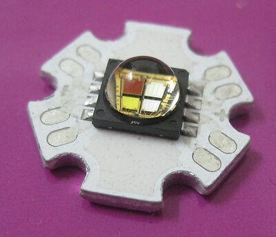 Cree XLamp MC-E RGBW RGB+White LED Emitter mounted on 20mm Star PCB 5W 10W