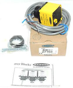POWER BLOCK SUPPLY 4VA 105 TO 130V AC 50//60HZ NIB BANNER OPBAE OMNI-BEAM