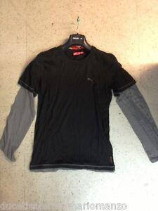T-Shirt-Manica-Lunga-Puma-DUCATI-Nera-98764809-Apparel-Ducati-Puma