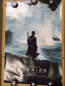 DUNKIRK-ORIGINAL-Movie-Poster-Signed-By-Director-Christopher-Nolan-27x40-1