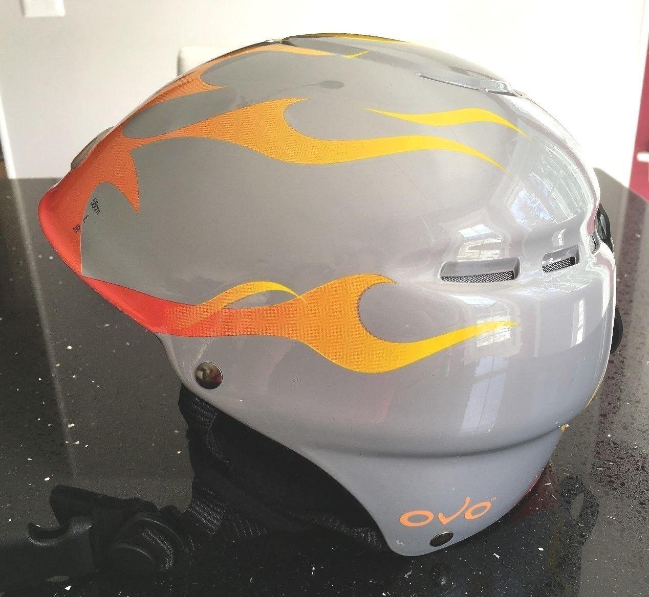 OVO Ski Snowboard Helmet Youth Size Large, 58cm Predective Head Gear