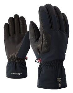 Ziener-Hombre-guantes-de-esqui-Giulio-AS-PR-Negro