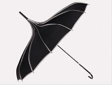 Umbrella Anti UV Sunscreen Rain&Sunny Windproof Strong Pagoda Black