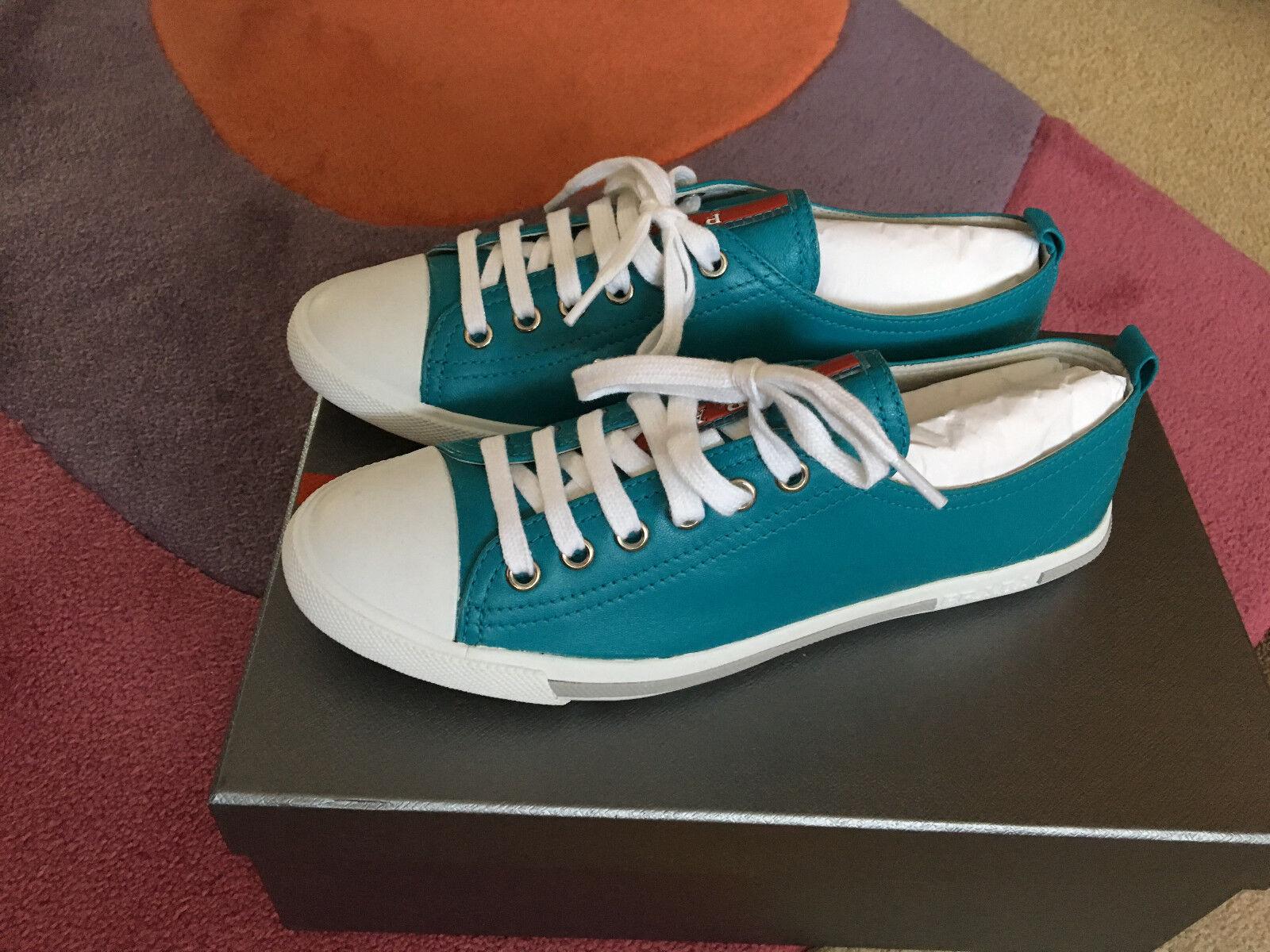 PRADA Sneaker Donna Scarpe Da NUOVO Ginnastica Tg. 37,5 NUOVO Da 937956