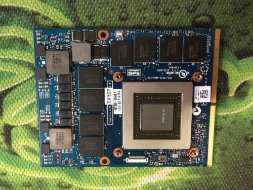 DELL ALIENWARE 17 18 NVIDIA GTX 880M 8GB JH9PP W9RVN  VIDEO CARD MSI CLEVO