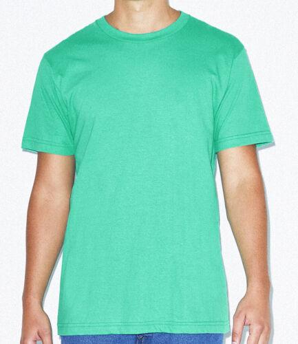 American Apparel Unisex Fine Jersey Cotone T-Shirt 30 Colori