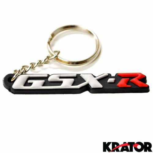 Suzuki GSXR 600 750 1000 Keychain Key Ring Fob Logo Decal+Sportbike Keychain