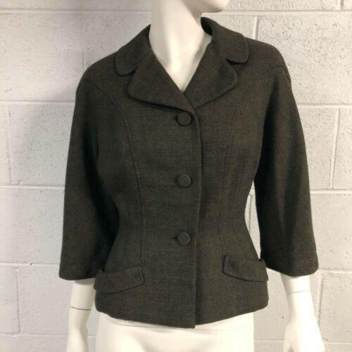 Womens Vintage 1950s Forstmann Virgin Wool Hourgla